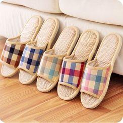 KIizzi - Plaid Home Slippers