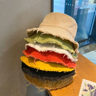 FROME - Raw Hem Bucket Hat
