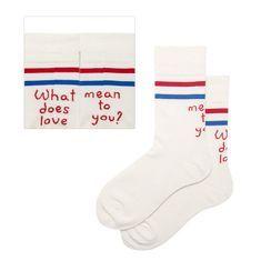 QUICKSOOX - Lettering Socks