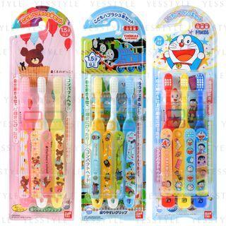 Bandai - Kids Toothbrush 3 pcs - 23 Types