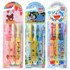 Bandai - Kids Toothbrush 3 pcs - 28 Types
