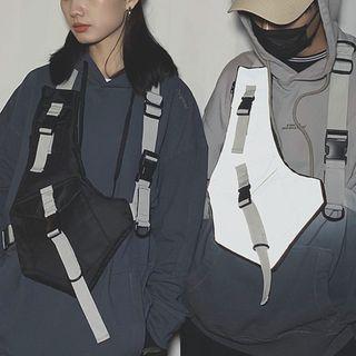 SUNMAN - 饰扣尼龙工装包