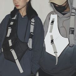 SUNMAN - 飾扣尼龍工裝包
