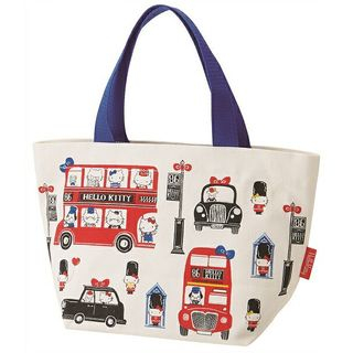 Skater - Hello Kitty London Canvas Lunch Tote Bag