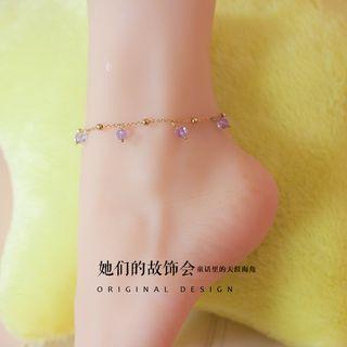 AOI - Crystal Anklet