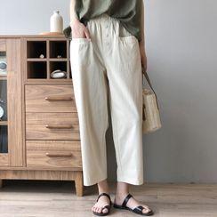 JOEJOE - 九分直身褲