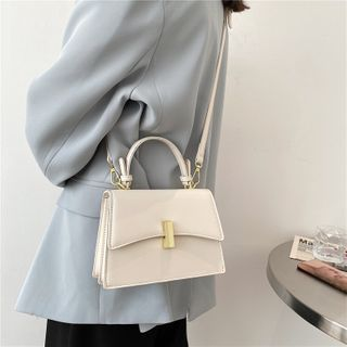 Miloes - Faux Leather Crossbody Bag