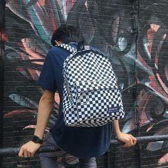 Mulgam - Checker Print Backpack