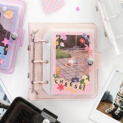 BABOSARANG(バボサラン) - Ring Binder Polaroid Photo Album - Instax Mini (S)