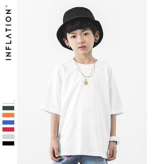 Wolandorf - 兒童純色短袖T裇
