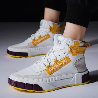 Auxen - Platform High Top  Sneakers