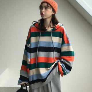 Gilmort - Striped Hoodie