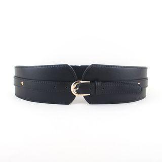 Goldenrod - Buckled Elastic Belt