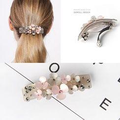 DOWWELL - Acetate Flower Hair Clip