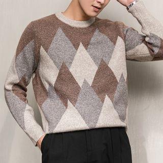 Orizzon - Argyle Sweater