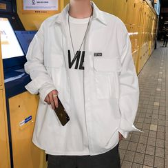 JUN.LEE - Plain Shirt Jacket