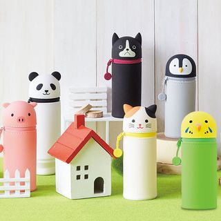 Full House - 矽胶动物铅笔盒