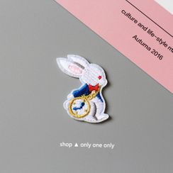 one&only(ワンアンドオンリー) - Rabbit Embroidered Patch