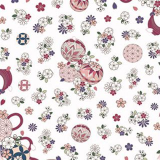 MAGICO - Flower Print Nail Stickers