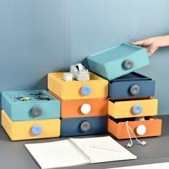 Good Living - Plastic Drawer Stackable Desk Organizer