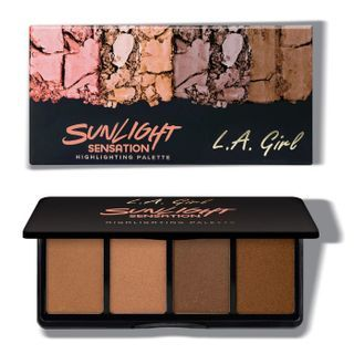 L.A. Girl Cosmetics - Fanatic Highlighting Palette - Sunlight Sensation