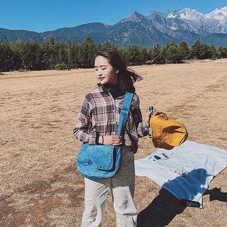 Mulgam - Denim Messenger Bag