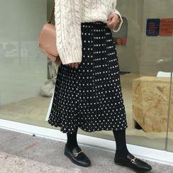 OCTALE - High-Waist Chiffon Skirt