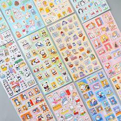 Dukson - 動物印花PVC貼紙