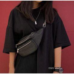 Ikebag - Faux Leather Belt Bag