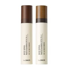 The Saem - Eco Soul Real Fit Foundation SPF30 PA++ (2 Colors) 40ml