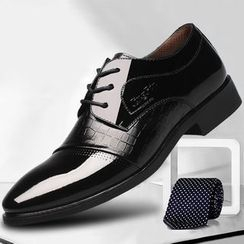 TYCOON - Panel Lace Up Dress Shoes