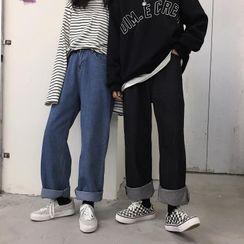 Ztreetus - Wide-Leg Jeans