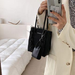 Miloes - Acrylic Chain Shoulder Bag