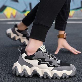 JACIN - 厚底系带休閒鞋