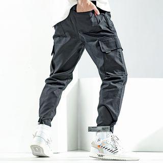 Soinku - Cropped Cargo Pants