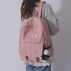 Little Days - Rabbit Charm Canvas Backpack