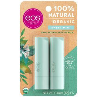 eos - Sweet mint 2-pack lip balm