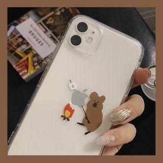 kloudkase - Animal Print Phone Case - iPhone 12 Pro Max / 12 Pro / 12 / 12 mini / 11 Pro Max / 11 Pro / 11 / SE / XS Max / XS / XR / X / SE 2 / 8 / 8 Plus / 7 / 7 Plus
