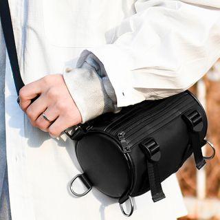 SUNMAN - Nylon Barrel Crossbody Bag