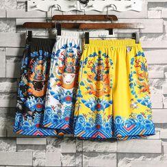 Cowpow - Printed Quick Dry Shorts