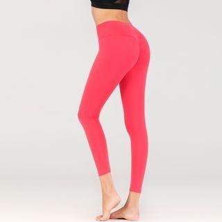 Peachus - 純色瑜伽褲
