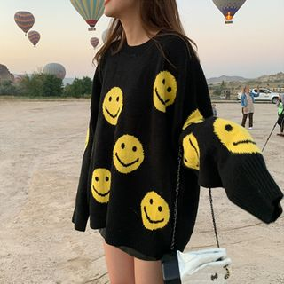 Lilad - Smiley Face Sweater