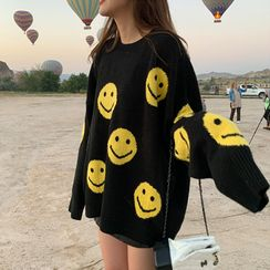 Lilad - 笑臉印花毛衣