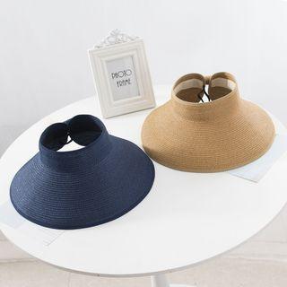 Raconteur - 可折叠草编遮阳帽