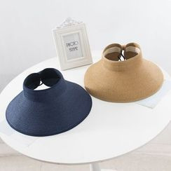 Raconteur - Foldable Straw Visor Hat