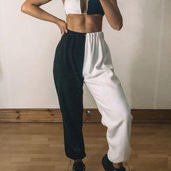 BrickBlack - Color Block Sweatpants