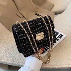 FAYLE - Tweed Shoulder Bag