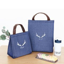 Hyole - Deer Horn Print Insulated Lunch Bag