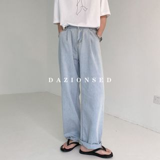 DAZO Studios - 水洗宽腿牛仔裤