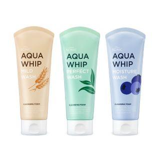 SCINIC - Aqua Whip Cleansing Foam - 3 Types